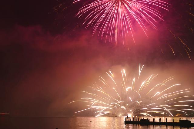 芦ノ湖夏まつりウィーク湖水まつり花火