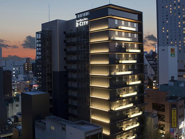 ダイワロイヤルホテル D-CITY 名古屋伏見(2019年4月1日オープン)