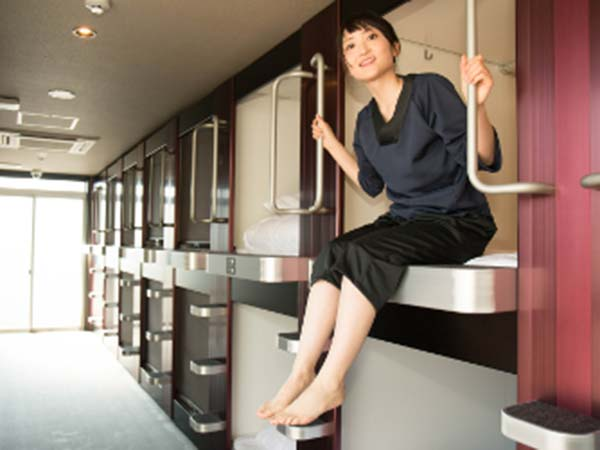Caphotel KYOTO(カプセルホテル京都)