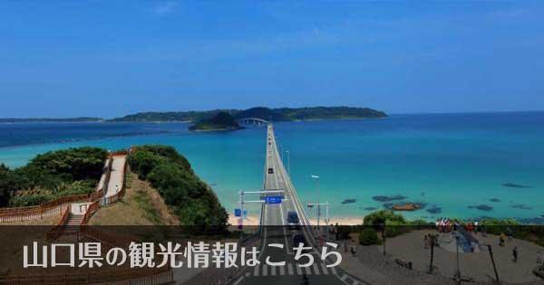 山口県のおすすめ観光スポット
