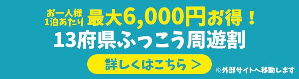 13府県ふっこう周遊割公式サイト