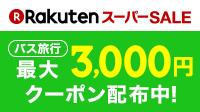 クーポン最大3,000円