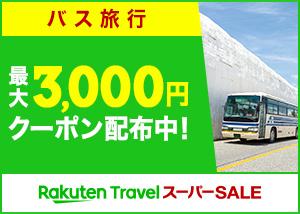 最大3,000円クーポン配布中!