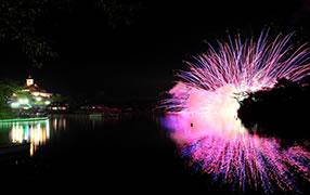 那須りんどう湖レイクビュー花火大会