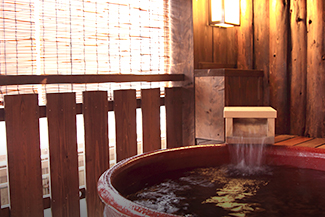 露天風呂付客室・貸切風呂
