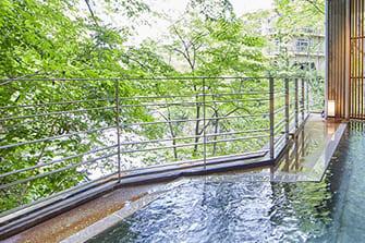 水上唯一の谷川岳を望む絶景と15種の湯巡りの宿 水上館