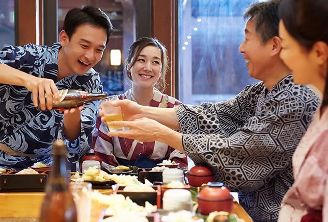 親孝行旅 還暦祝い、ご両親の結婚記念日に、親孝行旅をプレゼント