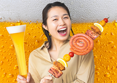 """世界のビールが大集合!""""ビール祭"""""""