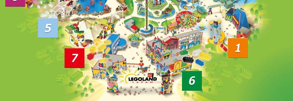 レゴランドマップ