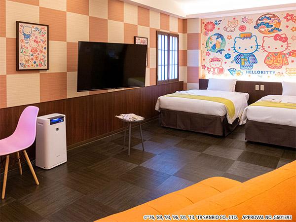 ホテル沖縄 with サンリオキャラクターズ(2019年9月15日OPEN)