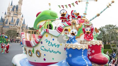 ディズニーの仲間たちとクリスマスイベントで盛り上がろう♪