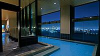 [PR] 展望露天風呂から煌めく夜景を
